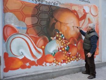 Murale, Viale Sardegna, Nuoro