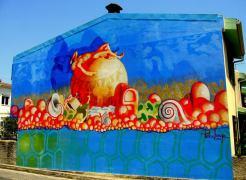 Sognando la mia terra, Murale, 2006, Irgoli